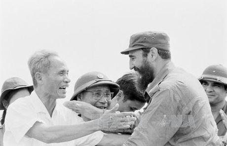 Lanh tu Cuba Fidel Castro: Nguoi ban lon cua Viet Nam - Anh 1
