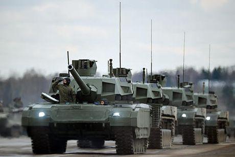 Xe tang Armata se duoc gan them may bay do tham khong nguoi lai - Anh 1