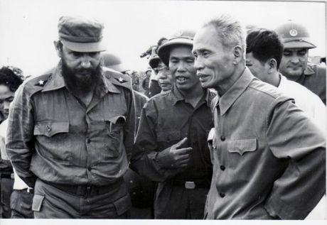 Chu tich Fidel Castro: 'Soi day' that chat tinh huu nghi Viet Nam – Cuba - Anh 2