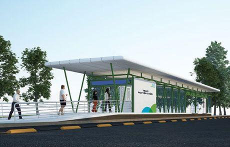 Ha Noi: Gap rut dua tuyen buyt nhanh BRT vao hoat dong - Anh 1