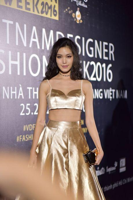 Dan sao Viet hoi ngo tai dem mo man Designer Fashion Week 2016 - Anh 1