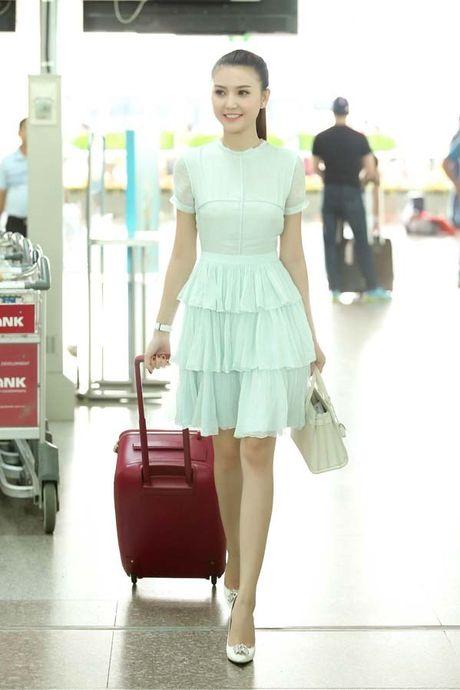 Ngoc Duyen cung hoc tro Ha Ho len duong den Victoria's Secret 2016 - Anh 5
