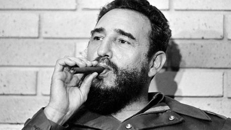 Nhung cuoc gap cuoi cung cua ong Fidel voi chinh khach - Anh 1