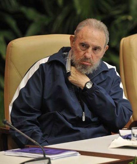 Nhung cuoc gap cuoi cung cua ong Fidel voi chinh khach - Anh 2