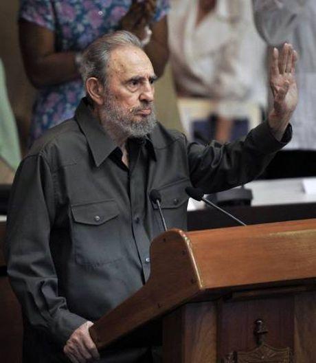 Nhung cuoc gap cuoi cung cua ong Fidel voi chinh khach - Anh 4