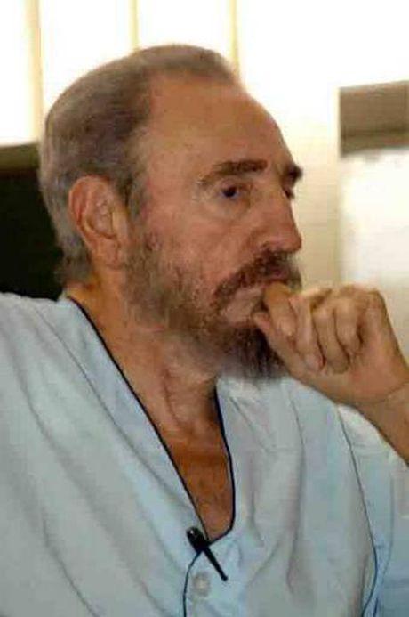 Nhung cuoc gap cuoi cung cua ong Fidel voi chinh khach - Anh 9