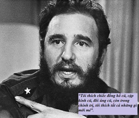 Nhung cau noi lay dong long nguoi cua lanh tu Fidel Castro - Anh 3