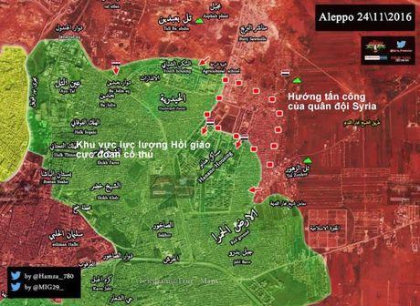 'Ho Syria', Dieu hau sa mac don dap tan cong cac quan phia dong Aleppo - Anh 2