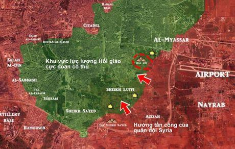 'Ho Syria', Dieu hau sa mac don dap tan cong cac quan phia dong Aleppo - Anh 3