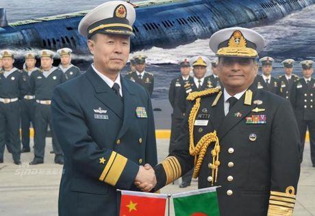 Bangladesh mua tau ngam Trung Quoc gay cang thang cho An Do - Anh 1