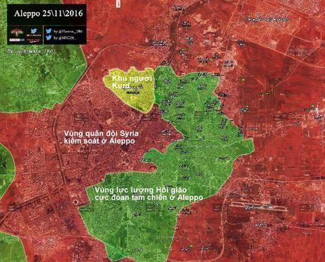 Chien su Aleppo: Quan doi Syria don binh luc nham ket lieu phien quan - Anh 2