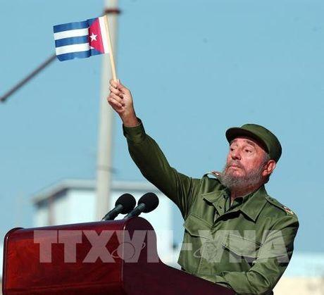 Cuba tuyen bo to chuc quoc tang 9 ngay cho Lanh tu Fidel Castro - Anh 1