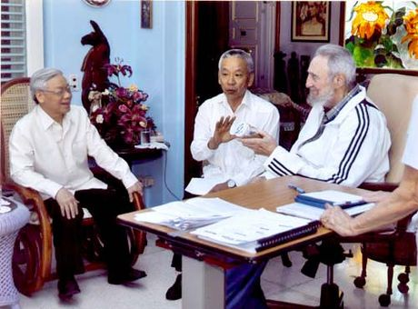 Chu tich Fidel Castro - Nguoi ban lon cua nhan dan Viet Nam - Anh 14
