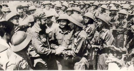 Chu tich Fidel Castro - Nguoi ban lon cua nhan dan Viet Nam - Anh 5