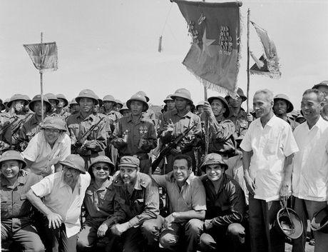 Chu tich Fidel Castro - Nguoi ban lon cua nhan dan Viet Nam - Anh 7