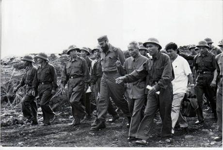 Chu tich Fidel Castro - Nguoi ban lon cua nhan dan Viet Nam - Anh 8