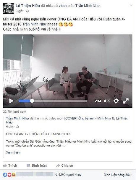 Le Thien Hieu cung Minh Nhu X-Factor lam moi 'Ong ba anh' sieu de thuong - Anh 1