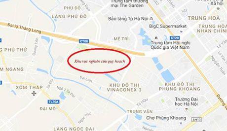 Khu chuc nang do thi Nam dai lo Thang Long vao 'tam ngam' quy hoach - Anh 2