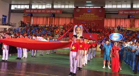 Cong doan Dau khi Viet Nam khai mac Hoi thao nam 2016 - Anh 1