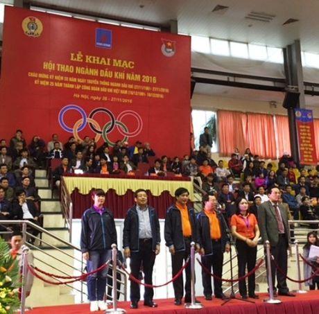 Cong doan Dau khi Viet Nam khai mac Hoi thao nam 2016 - Anh 2