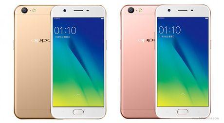 Oppo tung smartphone A57 gia re voi camera 'tu suong' 13 MP - Anh 1