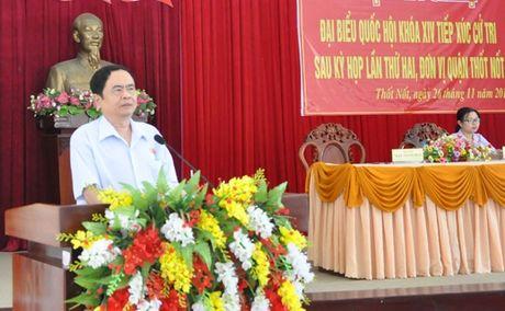 Pho Chu tich - Tong Thu ky Tran Thanh Man tiep xuc cu tri - Anh 1