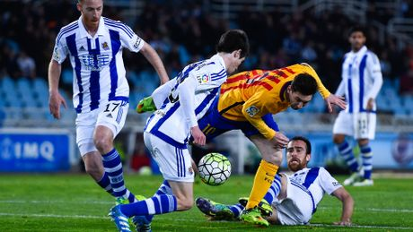 4 can cu de tin Barca that thu o tu dia Sociedad - Anh 1