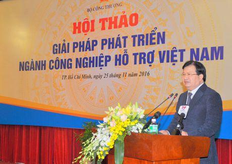 Phat trien cong nghiep ho tro: Doanh nghiep phai la trung tam - Anh 1