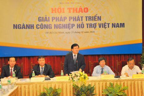 Phat trien cong nghiep ho tro: Doanh nghiep phai la trung tam - Anh 2