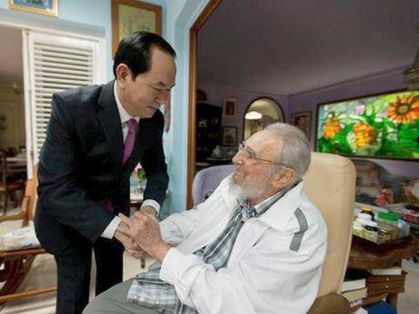 Cuoc doi lanh tu Cuba Fidel Castro qua anh - Anh 16