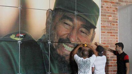 Cuoc doi lanh tu Cuba Fidel Castro qua anh - Anh 17