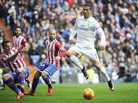 Bernabeu dang la 'vung dat chet' cua Ronaldo - Anh 1