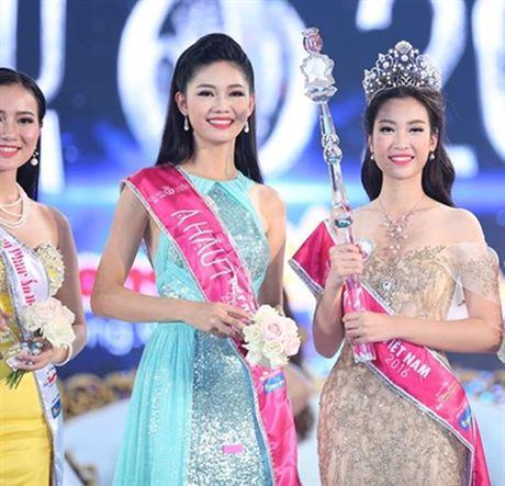 Cu the nay, A hau Thanh Tu lai som 'vuot mat' Hoa hau My Linh - Anh 5