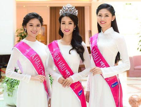 Cu the nay, A hau Thanh Tu lai som 'vuot mat' Hoa hau My Linh - Anh 6
