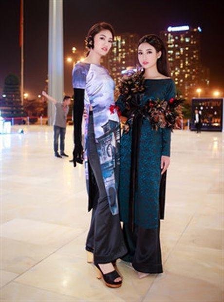 Cu the nay, A hau Thanh Tu lai som 'vuot mat' Hoa hau My Linh - Anh 7