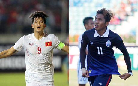 Lich thi dau va truc tiep bong da AFF Cup 2016: Viet Nam dau Campuchia - Anh 1