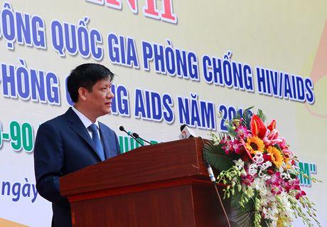 Viet Nam huong toi ket thuc dich HIV/AIDS vao nam 2030 - Anh 1
