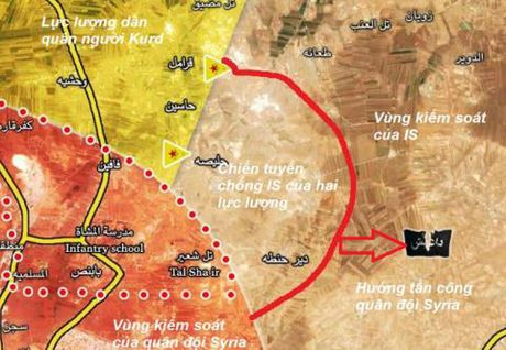 Tho xay can cu Syria, cac ong lon giap mat o Aleppo - Anh 1
