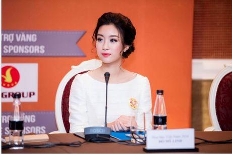 Cung hoa hau My Linh, MC Phan Anh tham gia chay vi tre em - Anh 1