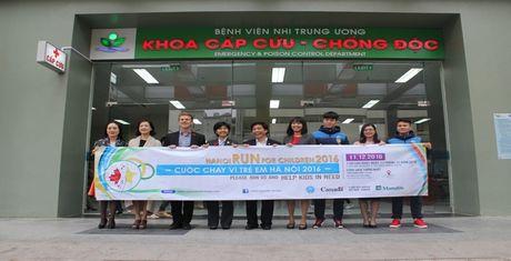 Cung hoa hau My Linh, MC Phan Anh tham gia chay vi tre em - Anh 2