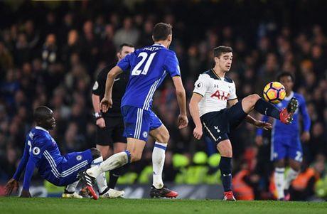 Nguoc dong truoc Tottenham, Chelsea doi lai ngoi dau tu Liverpool - Anh 10