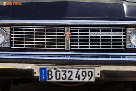 Limousine cua ong Fidel Castro 'tai sinh' thanh taxi tai Cuba - Anh 7