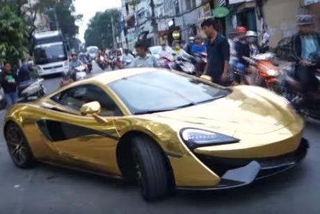 Sieu xe McLaren 570S chat vat vao showroom Sai Gon - Anh 1