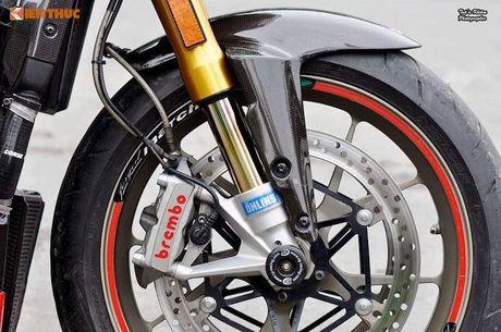 Biker Sai Gon len 'full do hieu' cho Ducati Streetfighter S - Anh 3