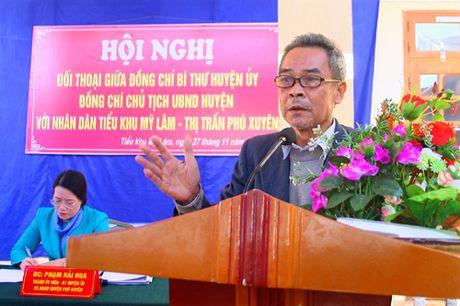 Huyen Phu Xuyen: thao go kho khan doi voi Du an xay dung Tram bien ap 110kV - Anh 1
