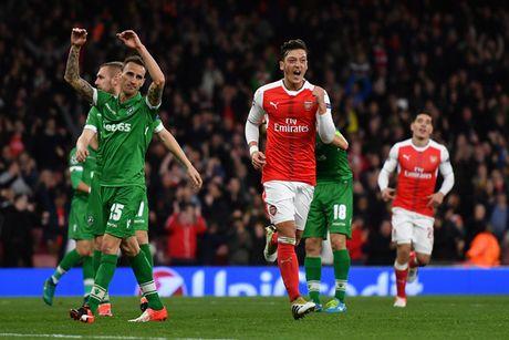21 gio 15 hom nay, TRUC TIEP Arsenal - Bournemouth - Anh 1