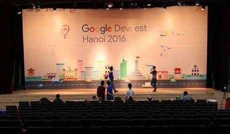 Hon 3.500 nguoi tham du Google Developers Festival 2016 - Anh 1