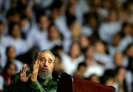 The gioi tiec thuong Chu tich Fidel Castro - Anh 1