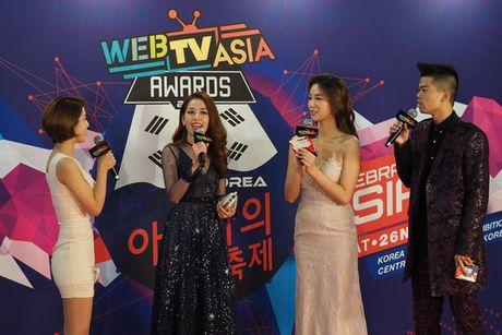 Chi Pu, Ly Hai duoc vinh danh tai WebTVAsia Awards 2016 - Anh 6