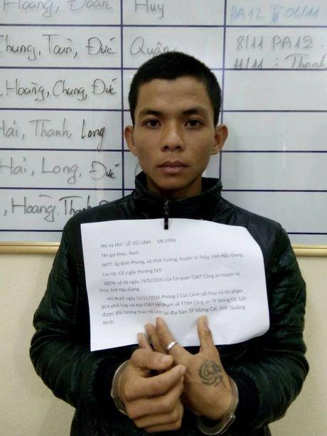 Bat doi tuong truy na dac biet nguy hiem o Quang Ninh - Anh 1